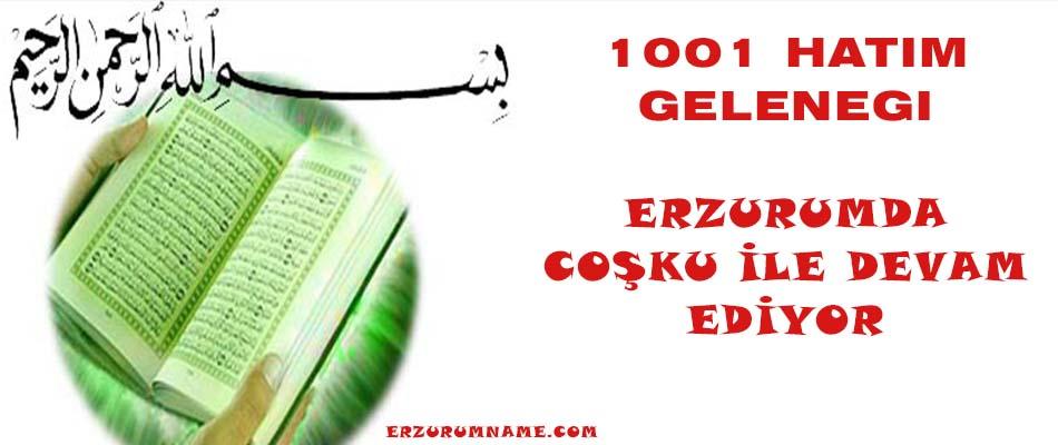 1001 HATİM GELENEGİ VE PİRALİBABA