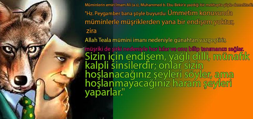 MÜNAFIGIN MASKESİ İSLAM..