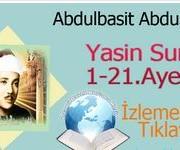 Abdulbasit Abdussamed Yasin Suresi 1-21.Ayetler