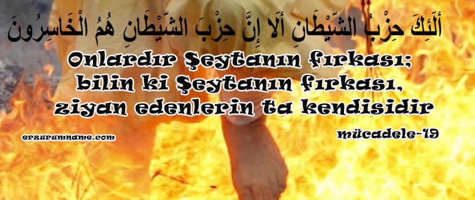 HZ. ALİ'NİN MÜNAFIKLARI, ŞEYTANIN TARAFTARLARINI ANLATAN HUTBESİ